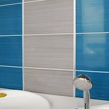 brighton blue and grey 25x40 cm is a ceramic gloss wall tile with