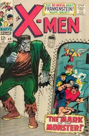 X Men 40 1st Frankenstein In Marvel Comics Click For Values