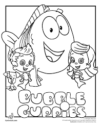 Harden Is Going To Looove These One Day Bubble Guppies Coloring Pages Cartoon Jr