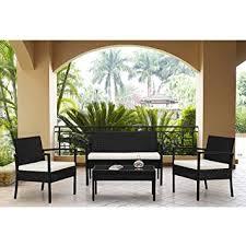 Amazon Patio Furniture Set Clearance Dining Set 4 Piece