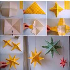 Paper Star How To Make Simple Home Decor