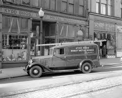 Kydd Brothers [Sheet Metal Works] Truck [in Front Of Shop At 160 ...