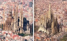 The Sagrada Familia Spain