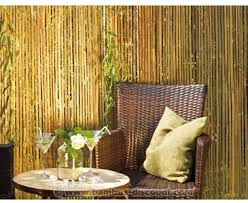 sichtschutz bambusmatte seoul höhe 90cm x länge 300cm