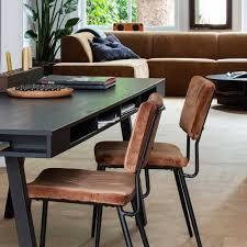 samt esszimmer stühle in hellbraun guanamo 2er set