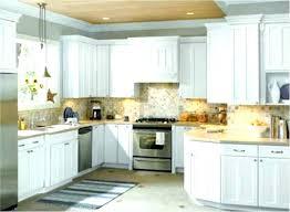 Gray Floor Kitchen Modern Farmhouse Tile Floors White Cabinets