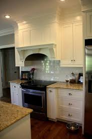 Kitchen Cabinet Soffit Ideas by Mahogany Wood Bordeaux Amesbury Door Kitchen Soffit Decorating