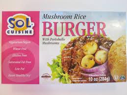 sol cuisine the veracious vegan sol cuisine rice burgers