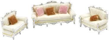 d dolity 1 25 puppenmöbel sofa möbel set für puppenhaus