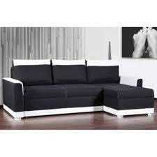 canapé noir et blanc canapé d angle gigogne convertible rapido carlow noir et blanc avec