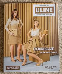 Uline Catalog Cover From Spring Summer 2015 Talk About Unexpected