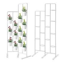 Outdoor Patio Plant Stands by Amazon Com Vertical Metal Plant Stand 13 Tiers Display Plants