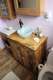 Distressed Bathroom Vanity Uk by Reclaimed Wood Bathroom Vanity