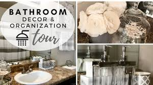 BATHROOM DECORATING IDEAS & TOUR 2018 - YouTube Master Bathroom Decorating Ideas Tour On A Budgethome Awesome Photos Of Small For Style Idea Unique Modern Shower Design Pinterest The 10 Bathrooms With Beadboard Wascoting For Blueandwhite Traditional Home 32 Best And Decorations 2019 25 Tips Bath Crashers Diy Cute Storage Decoration 20 Mashoid Decor Designs 18 Bathroom Wall Decorating Ideas