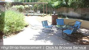 Vintage Homecrest Patio Furniture by Cfr Patio Inc The Patio Furniture Repair U0026 Restoration Experts