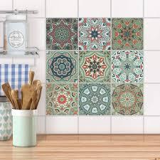 handbemalte fliese orientalisch marokko fliesen mosaik küche