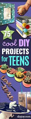 DIY Projects For Teenagers Cool Teen Crafts Ideas Teens Bedroom Decor Gifts Clothes And Fun Room Organization Summer Awesome School Stuff