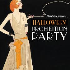 Bathtub Gin Burlesque Time by Film Fatale Presents Prohibition Halloween Party Imma