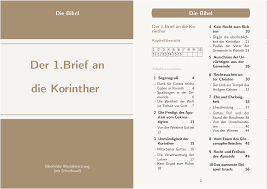 1 Brief An Die Korinther 13