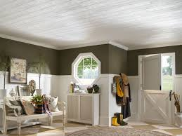 vaulted shiplap ceiling custom coffered c offered drop tiles kits