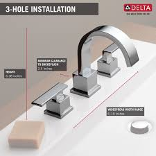 mini widespread faucet delta bathroom delta widespread bathroom faucet widespread waterfall