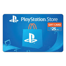 $25 PlayStation Store Gift Card