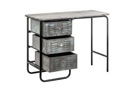 bureau metal noir bureau en metal bureau en home bureau bois metal ikea meetharry co