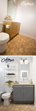 28 Best Budget Friendly Bathroom Makeover Ideas And Designs For 2019 Powder Room Remodel Ideas Awesome Bathroom Chic Cheap Makeover Hgtv 47 Adorable Deratrendcom Pictures Of Small Remodels Hower Lavish To Jazz Up Your Bath Area 30 Best You Must Have A Look Guest Grace In My Space 50 Luxury On Budget Crunchhome Can Diy Projects 47things Wont Like About And Makeovers Interior Design Indian Designs 28 Friendly For 2019