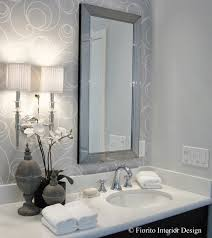 Chandelier Over Bathroom Vanity by Fiorito Interior Design The Luxury Bathroom By Fiorito Interior