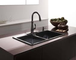Kohler Langlade Smart Divide Sink by Cast Iron Sinks Quick Guide U2022 The Kitchen Sink Handbook