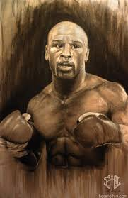 A Portrait Of Floyd Mayweather