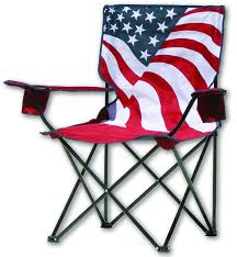 Kohls Metal Folding Chairs by Amazon Com Quik Chair Us Flag Folding Chair Sports U0026 Outdoors