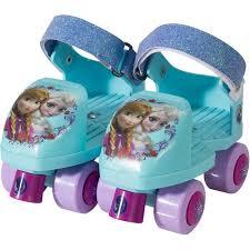 Frozen Bathroom Set At Walmart by Disney Frozen Kids Glitter Rollerskates With Knee Pads Junior