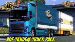 100 What Is A Tandem Truck BDF Pack V857 Upd 251017 128x ETS2 Mods