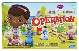 DOC MCSTUFFINS OPERATION BOARD GAME