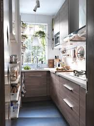 35 brilliant small space designs tiny kitchens light browns and