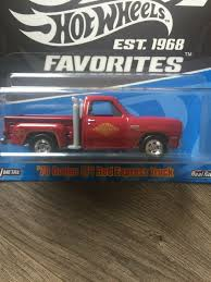 100 78 Dodge Truck Hot Wheels 50th Anniversary Favorites Lil Red Express