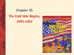 Iron Curtain Cold War Apush by Chapter 35 The Cold War Begins P818 Apush Chapter 35 Learning
