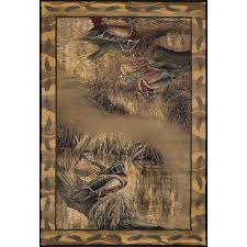 Backwaters Duck Area Rugs