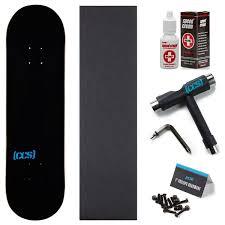 100 Ccs Decks Amazoncom CCS Logo Skateboard Deck Black 800 With