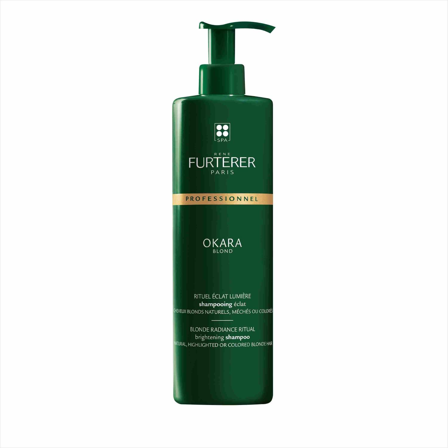 Rene Furterer Okara Blond Radiance Ritual Brightening Shampoo - Highlights, 600ml