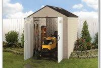 Rubbermaid Storage Shed 7x7 by Rubbermaid Storage Shed By Size Best Storage Ideas Website