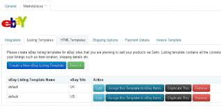 Please Click Assign This Template To EBay Items Button Following Screen Will Be Shown