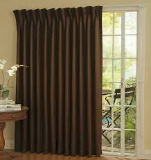 Decorative Traverse Curtain Rods With Pull Cord by Amazon Com Eclipse Thermal Blackout Patio Door Curtain Panel 100