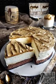 dalgona torte mit weißer schokomousse zungenzirkus