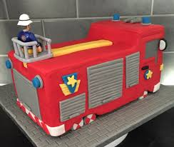 fireman sam jupiter engine cake fireman sam