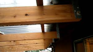 Deck Joist Hangers Nz by Home Inspector Seattle Talks About Bad Deck Roof Cover 425 207