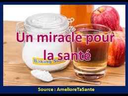 un miracle pour la santé vinaigre et bicarbonate de soude