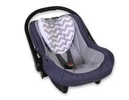 cale tete bebe pour siege auto tête bébé pour siège auto zigzag gris