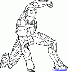 Ironman Coloring Page Iron Man Pages Tryonshorts Line Drawings